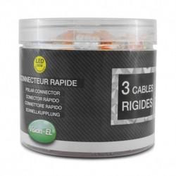 Miidex Lighting - {reference} - Vision-el |Connecteur rapides 3 fils rigides - boite 100pcs
