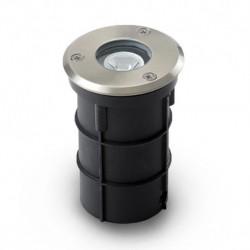 Miidex Lighting - {reference} - SPOT ENCASTRABLE LED Ø62MM 1W ROND BLEU IP67