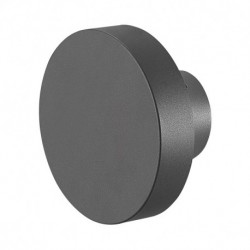Miidex Lighting - {reference} - Applique Murale LED Rond Anthracite 10W 4000°K IP65