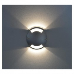 Spot LED Balise Rond 2 diffuseurs 1W 4000°K