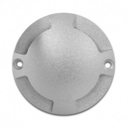 Miidex Lighting - {reference} - Spot LED Balise Bleu Rond 4 diffuseurs 1W