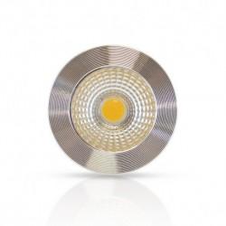 VISION-EL  Ampoule LED GU10 Spot 5W 3000°K Aluminium 75°