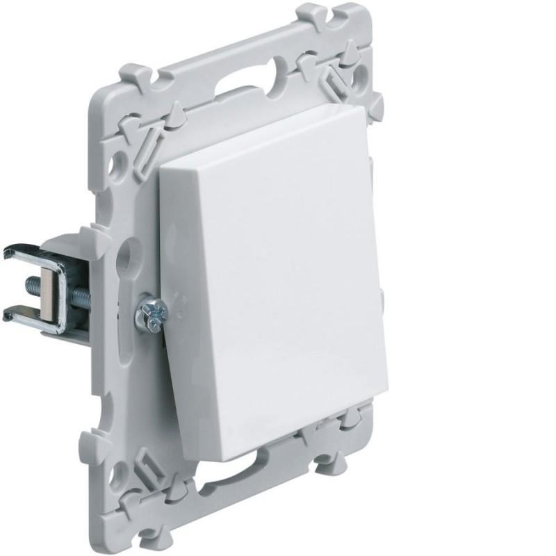Hager - {reference} - Hager - WE000G - Essensya Interrupteur à griffes