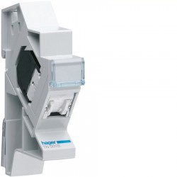 Hager - {reference} - Hager - TN001S - Connecteur RJ45 cat.5e FTP