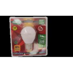 vision-el - {reference} - Ampoule LED E27 BULB 3W 3000°K