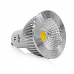 Ampoule LED GU10 6W 4000°K 75° Aluminium