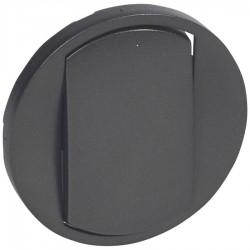 Legrand - {reference} - Legrand - 067901 - Enjoliveur large Céliane interrupteur / va-et-vient / poussoir Soft - graphite