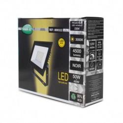 Projecteur LED Plat Gris 50W 3000°K IP65