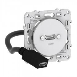 Schneider Electric - S520462 - ODACE HDMI TYPE A BLANC
