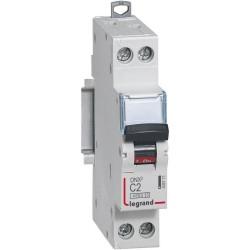 Disjoncteur 1p+ng c2 4500a/6ka 1module
