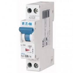 EATON - {reference} - Disjoncteur P+N :  20A 4,5kA (EN 60898) cbe C