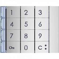 Facade clavier code Allmetal