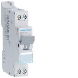 [ MFN702 ] Disjoncteur 1 P+N :  3kA C-2A 1 Module