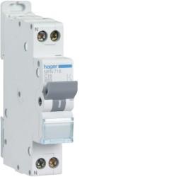 [ MFN716 ] Disjoncteur 1 P+N :  3kA C-16A 1 Module