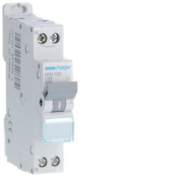 [ MFN732 ] Disjoncteur 1 P+N :  3kA C-32A 1 Module