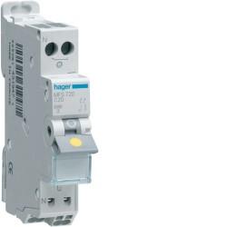 [ MFS720 ] Disjoncteur 1 P+N :  3kA C-20A connexion SanVis 1 Module