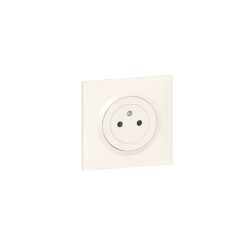 Legrand - {reference} - 2P+T SURFACE ONE BLANC