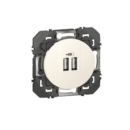 Legrand - {reference} - CHARG 2USB A+A 2.4A 12W BL