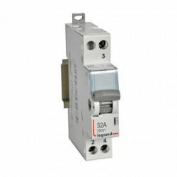 Legrand - {reference} - Legrand - 412902 - Interrupteur-inverseur modulaire va-et-vient à point milieu 250V~ - 1 module