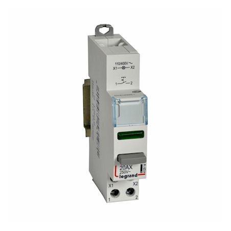 Legrand - {reference} - CX3 INTER P 1NO+V.VERT110/400V