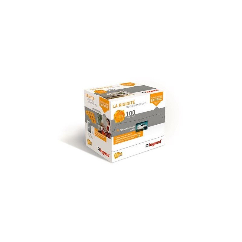 Legrand - {reference} - DISTRIBOX CL.SECHES P40MM X100