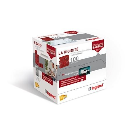Legrand - {reference} - DISTRIBOX MACONNERIE P40MM