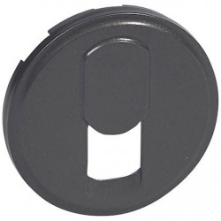 Legrand - {reference} - Legrand - 067937 - Enjoliveur Céliane téléphone RJ 45 graphite