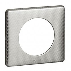 Legrand - {reference} - PLAQUE 1P ALU SNAKE
