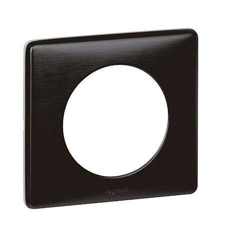 Legrand - {reference} - PLAQUE 1P CARBONE