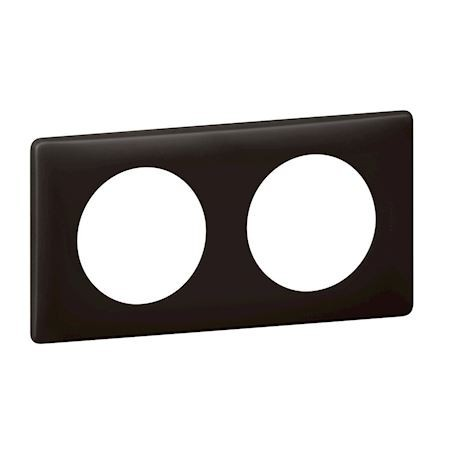 Legrand - {reference} - PLAQUE 2P BASALTE
