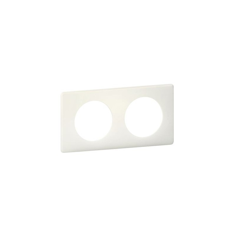 Legrand - {reference} - PLAQUE 2P CRAIE