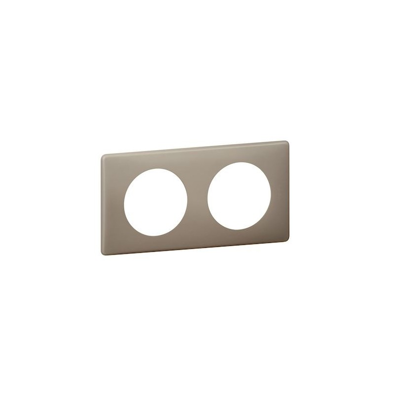 Legrand - {reference} - PLAQUE 2P GRES