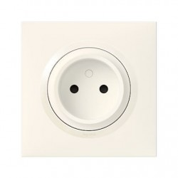 Legrand - {reference} - PRISE 2P ONE BLANC