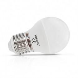 Ampoule LED E27 Bulb  G45 6W 3000°K
