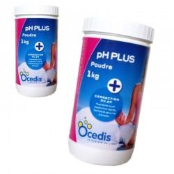 Ocedis pH PLUS poude 1Kg lot de 2 pièces