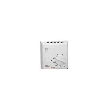 Hager - {reference} - Thermostat ambiance électronique saillie chauf élec avec entrée fil pilote 230V