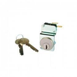 Urmet - {reference} - Urmet - T25/CH - Contact à clé PTT et services publics- Diamètre 25mm
