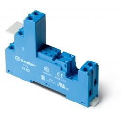Support pour relais séries46- bleu