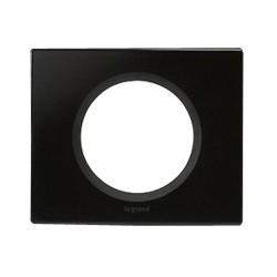 Legrand - {reference} - Plaque Céliane - 1 poste - verre graphite